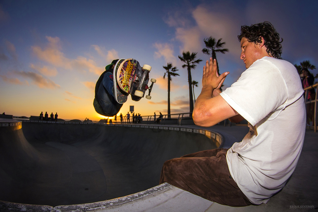 `Zen And The Art of Skateboarding I´, © 2013 John K. Goodman